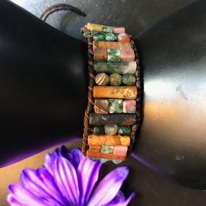 Jewelry - Jasper & Agate Stone Healing Bracelet